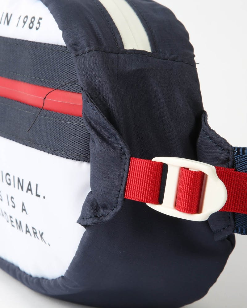 Tommy Jeans TJU Original Bumbag White/Navy/Red