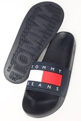 Tommy Jeans Women's Flag Pool Slide Navy