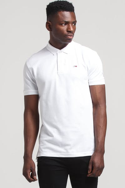 Tommy Jeans TJM Tommy Classics Solid Polo Classic White