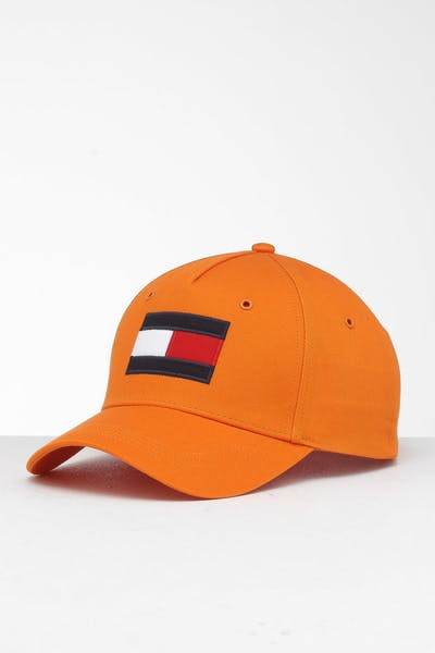 Tommy Jeans Big Flag Cap Orange Rust