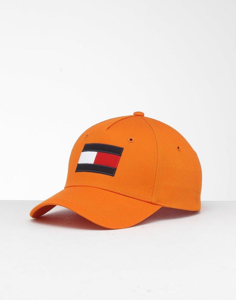 5b35d500af425 Tommy Jeans Big Flag Cap Orange Rust – Culture Kings NZ