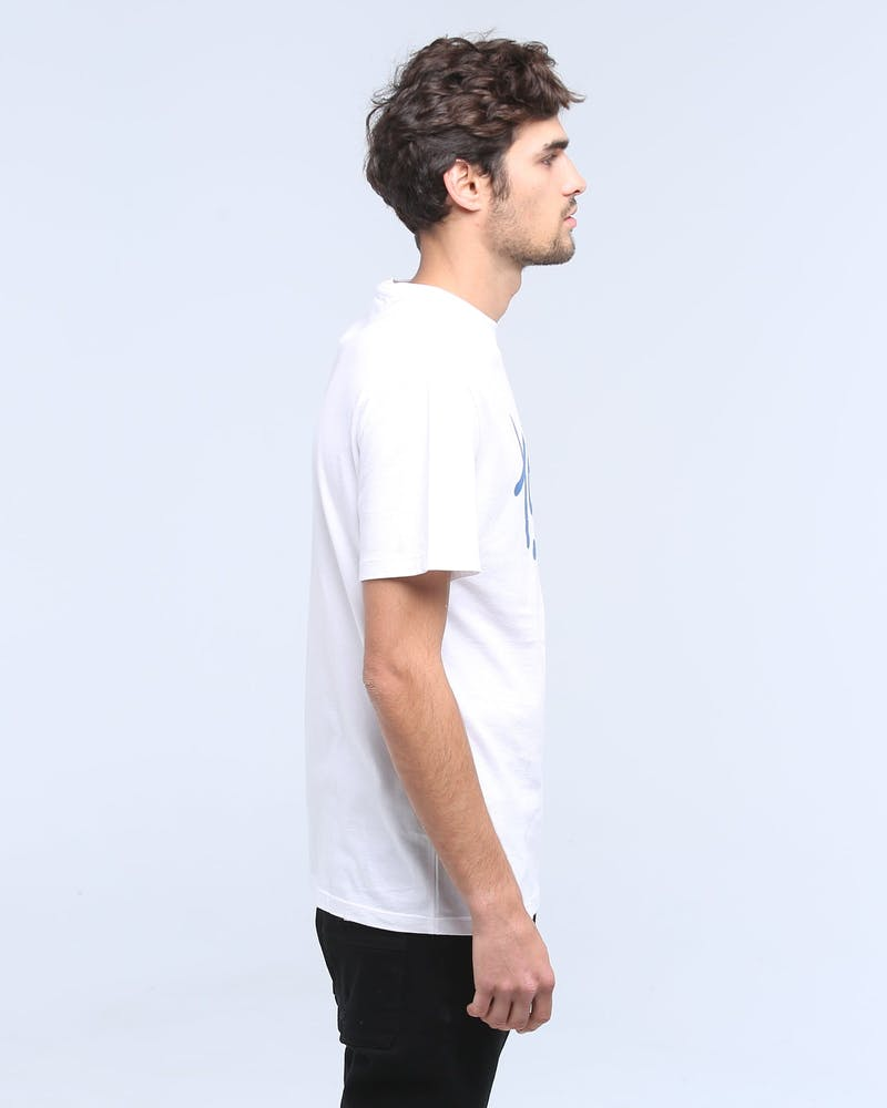 TOMMY JEANS TJM HANDWRITING TEE CLASSIC WHITE
