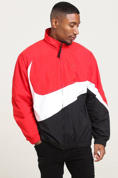 Nike Sportswear Jacket Red/White/Red
