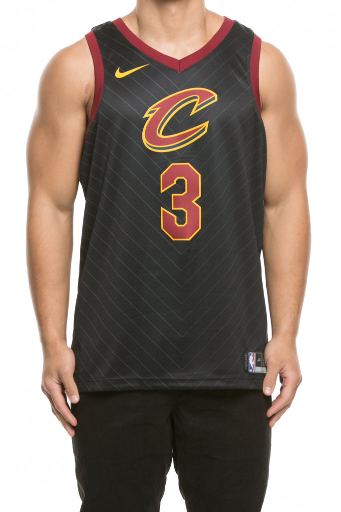 f3804c451 ... germany nike cleveland cavaliers 3 isaiah thomas alternate swingman  jersey black red gold fa2f1 fafd9