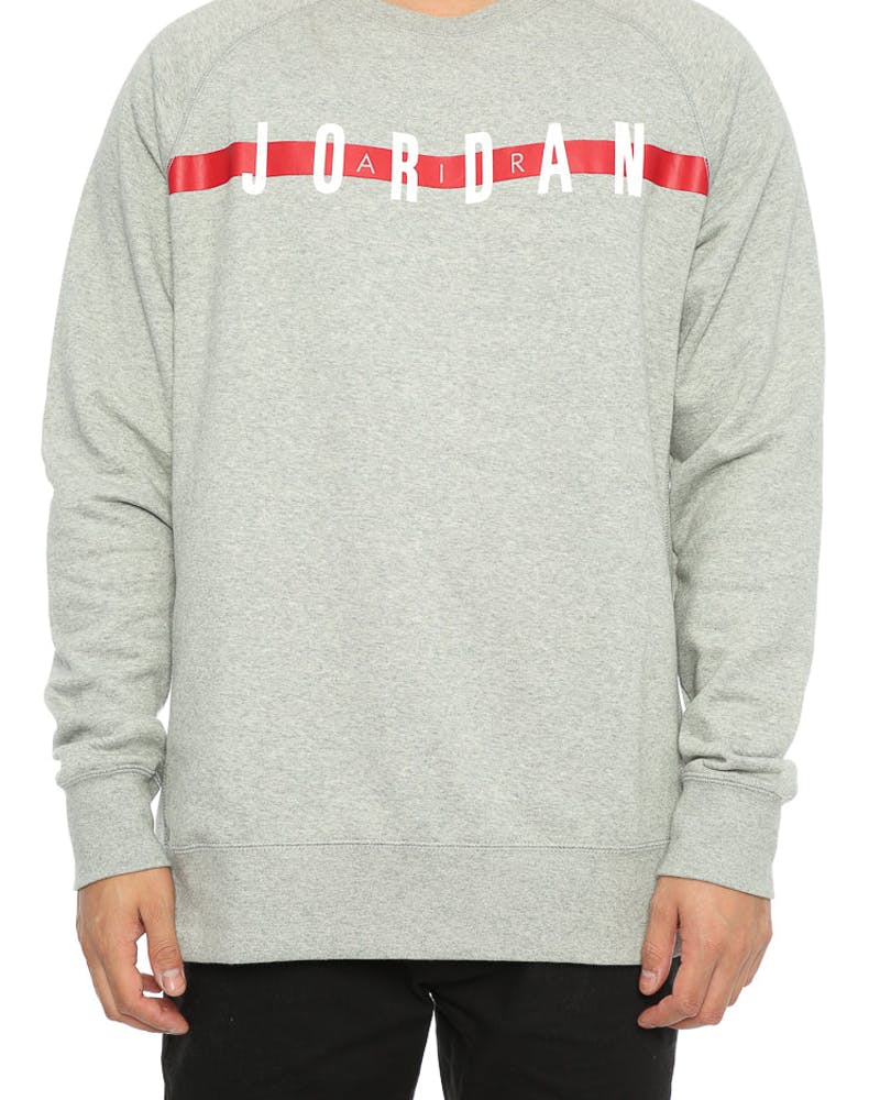 Jordan Seasonal Graphic Crew Grey