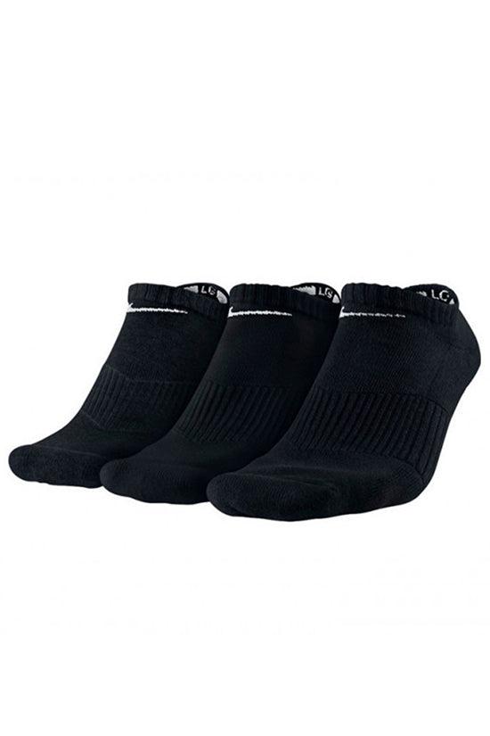 Nike Unisex Perfect Cushion No-Show Sock 3 Pack Black/White