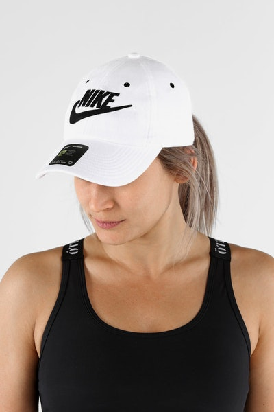 Nike Women's Heritage 86 Cap White/Black