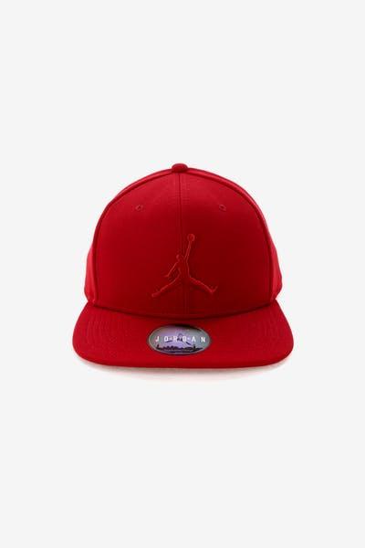e835f3edbc3 Jordan Jumpman Snapback Red