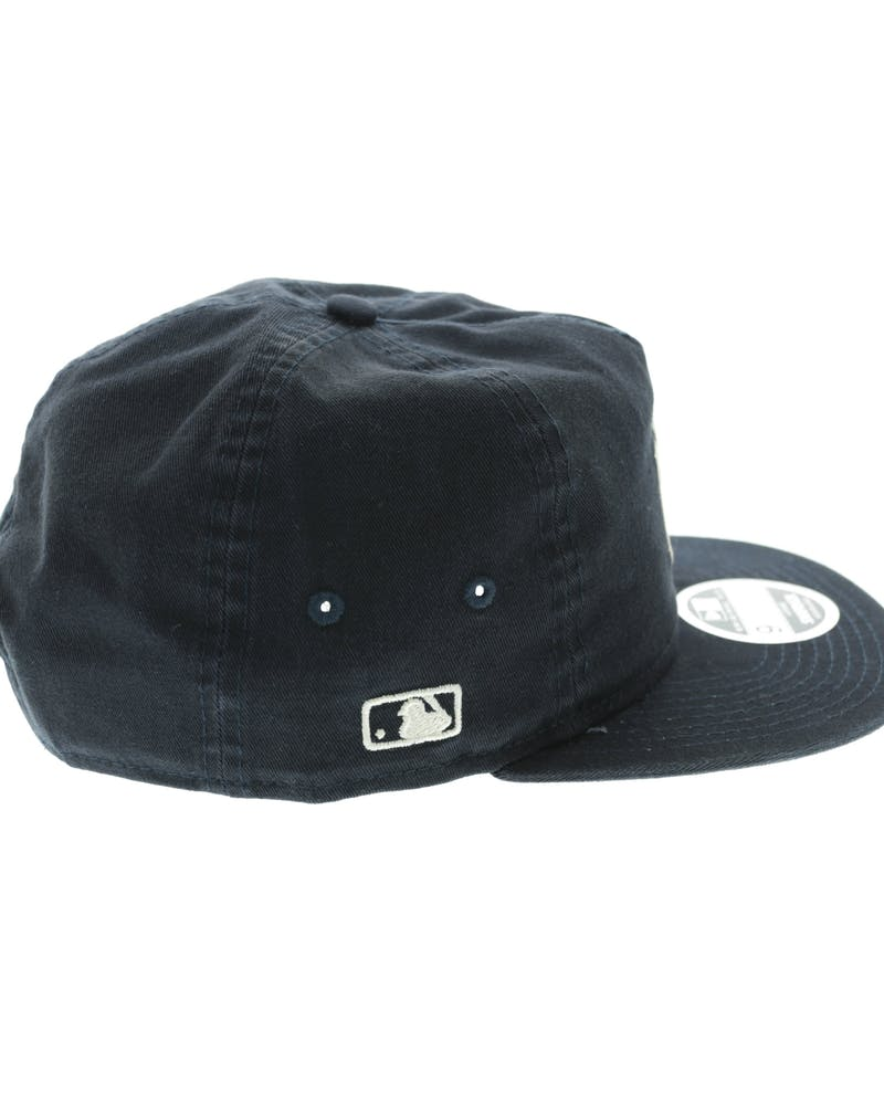 New Era Yankees Chain Stitch Snapback Navy