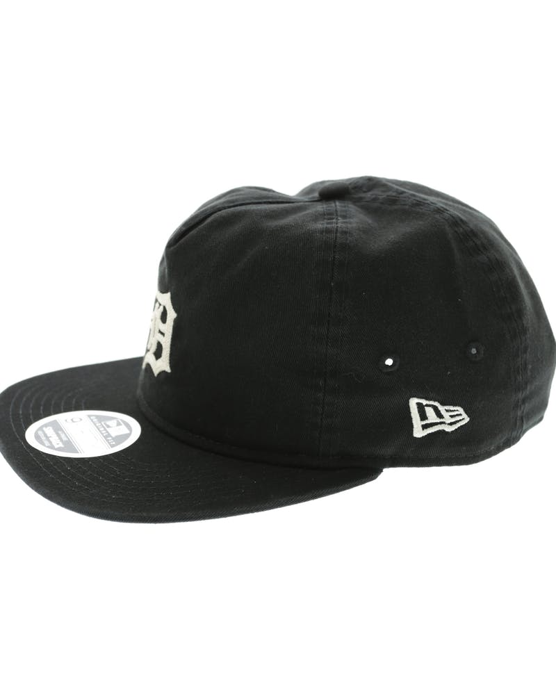 New Era Tigers Chain Stitch Snapback Black