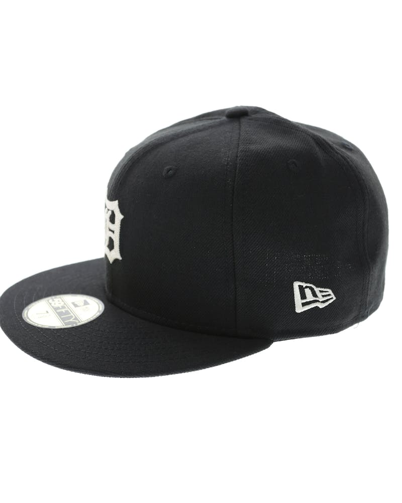 New Era Tigers 59Fifty Chain Stitch Fitted Black