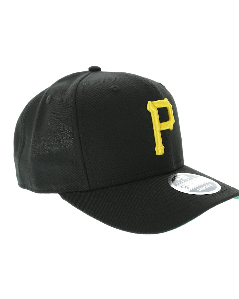 New Era Pirates 9Fifty Precurved Original Fit Black/Yelllow