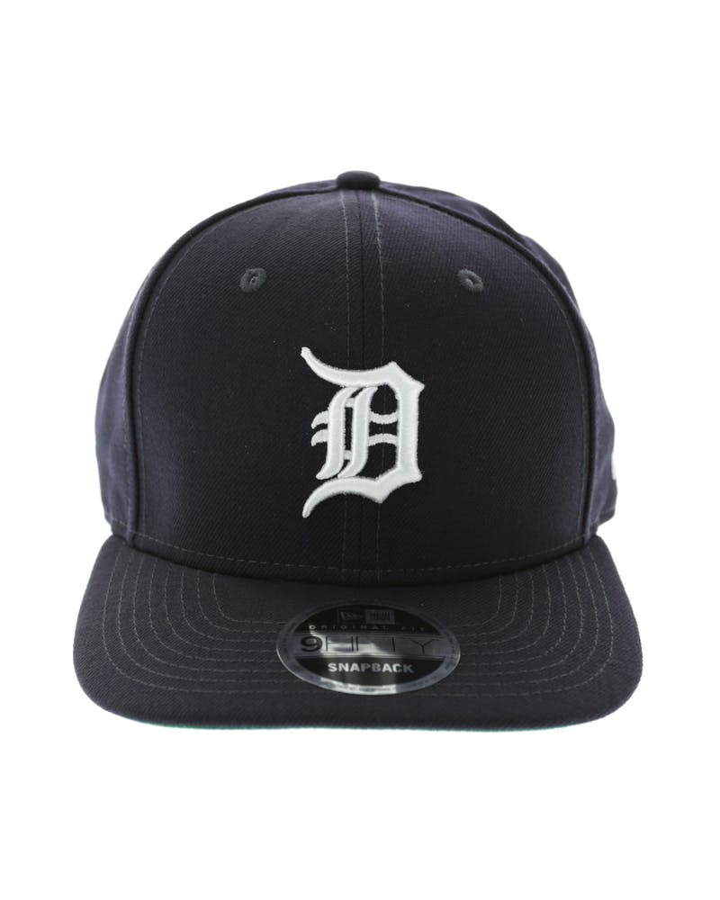 New Era Tigers 9FIFTY Precurve Original Fit Snapback Navy/White