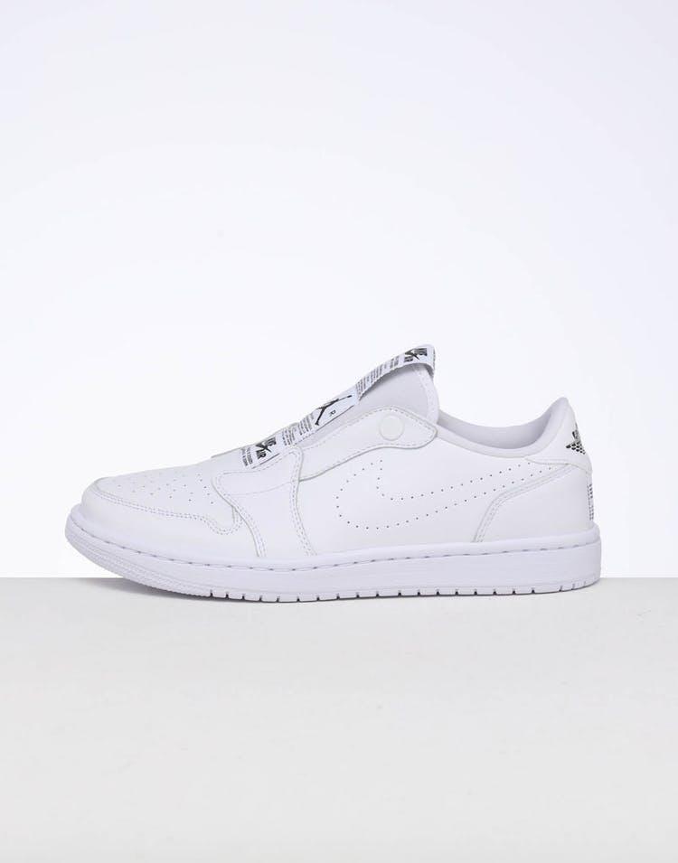 promo code 93365 2cb4d Jordan Women's Air Jordan 1 Retro Low Slip White/Black