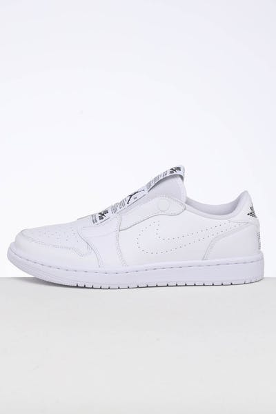 Jordan Women's Air Jordan 1 Retro Low Slip White/Black