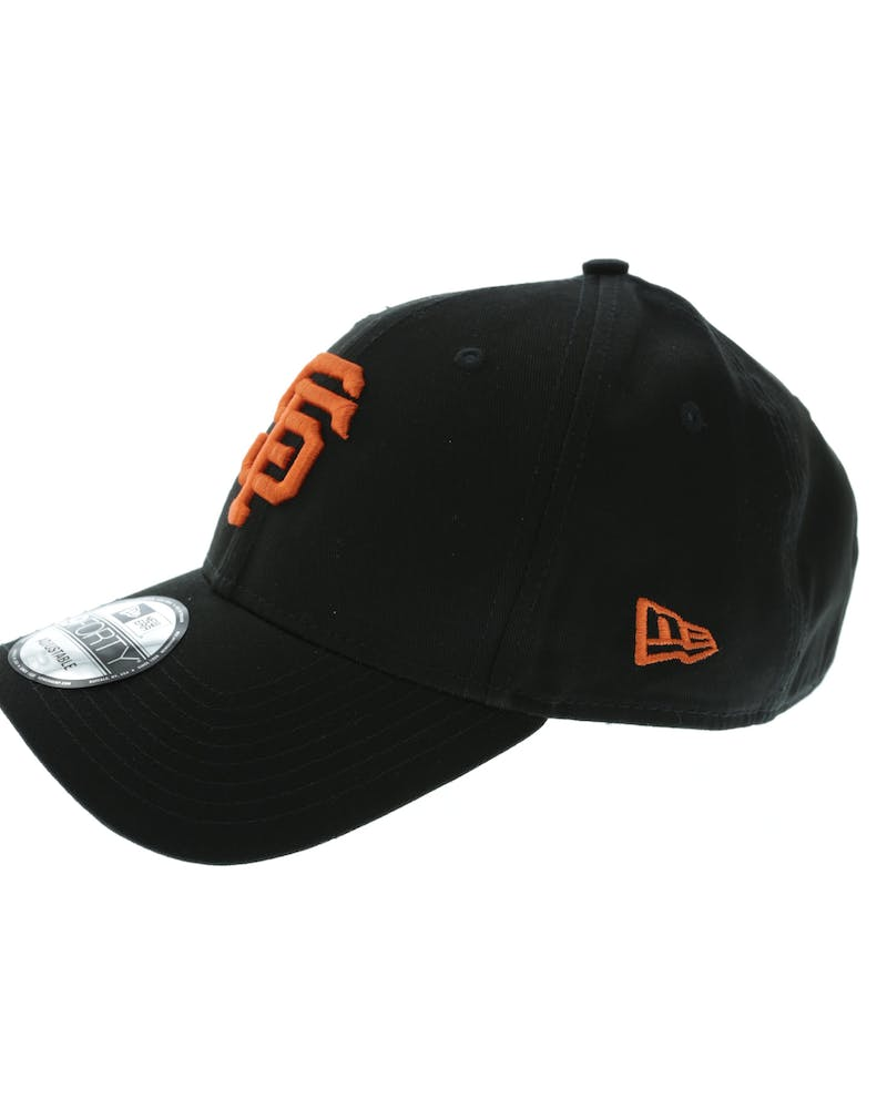 New Era Giants 9FORTY Strapback Black/Orange
