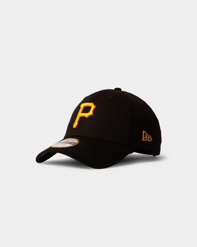 New Era Pirates 9FORTY Strapback Black/Yellow