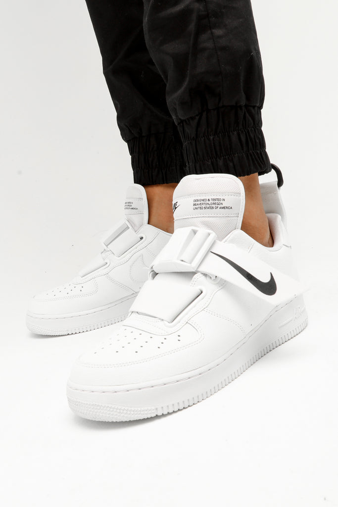 Nike Air Force 1 Utility WhiteWhiteBlack