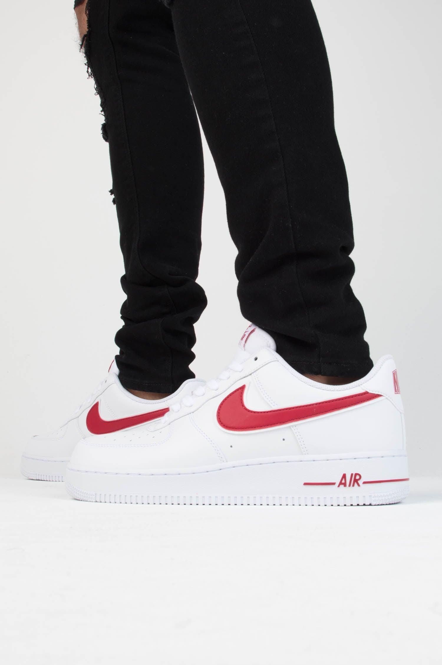 Nike Air Force 1 '07 3 WhiteRed