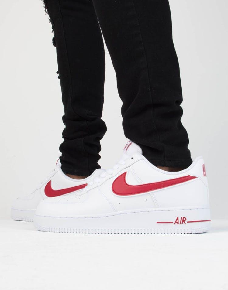 San Francisco a74d9 8c6b8 Nike Air Force 1 '07 3 White/Red