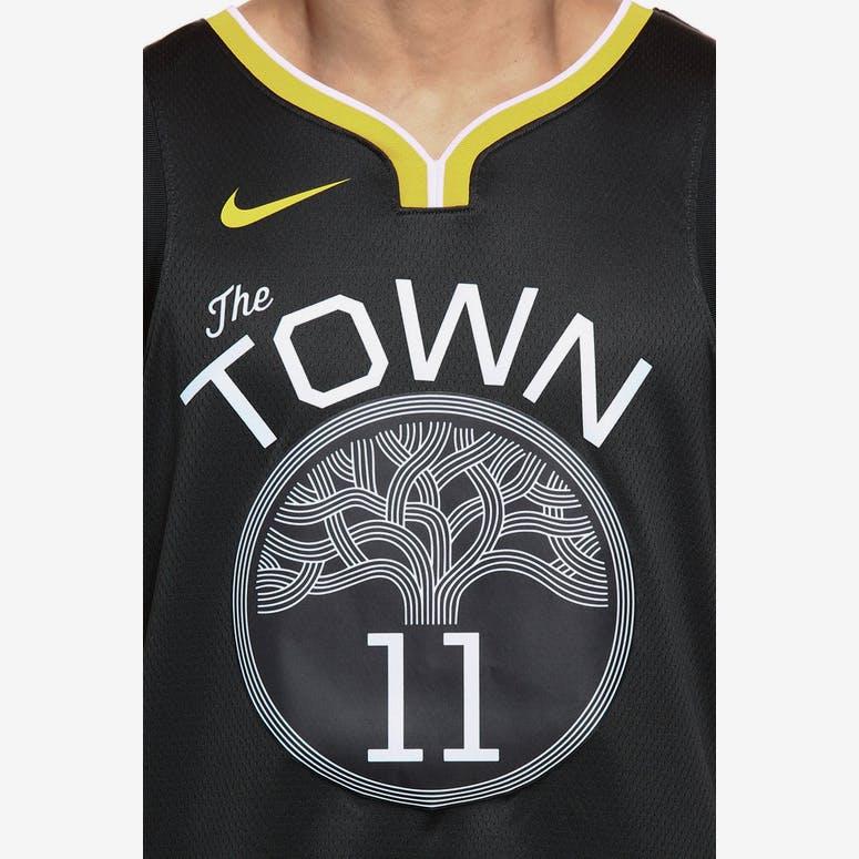 Nike Golden State Warriors  11 Klay Thompson Statement Edition Swingman  Jersey Grey White  d909c0730