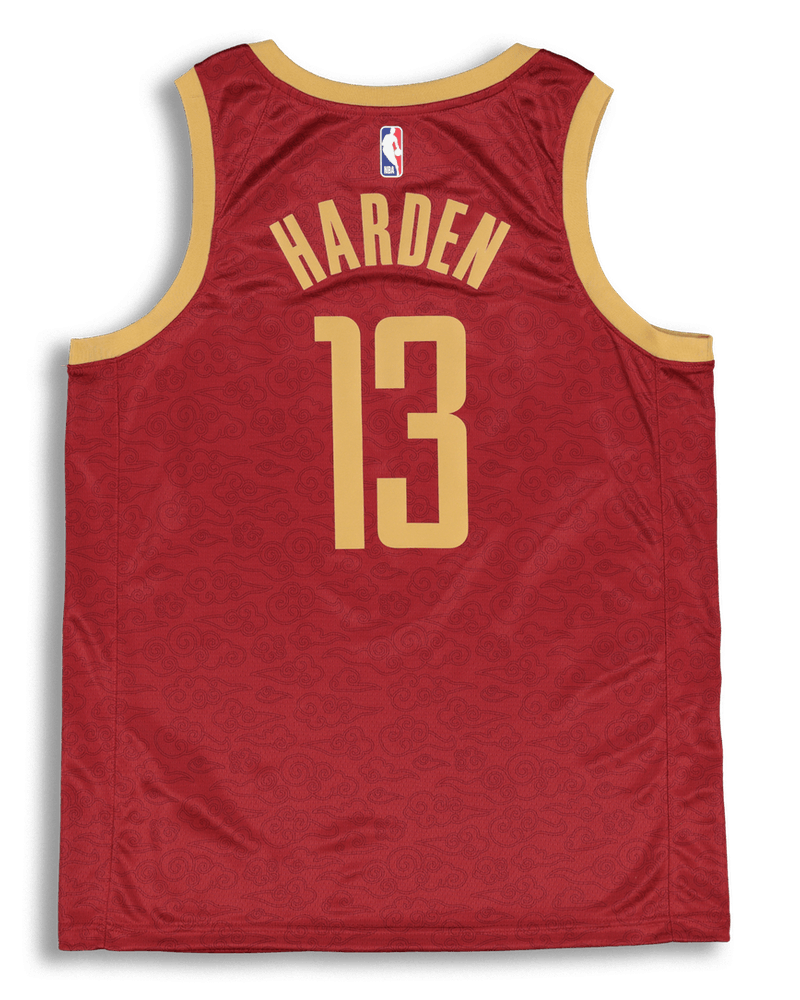 Nike Houston Rockets James Harden #13 City Edition Swingman NBA Jersey Crimson
