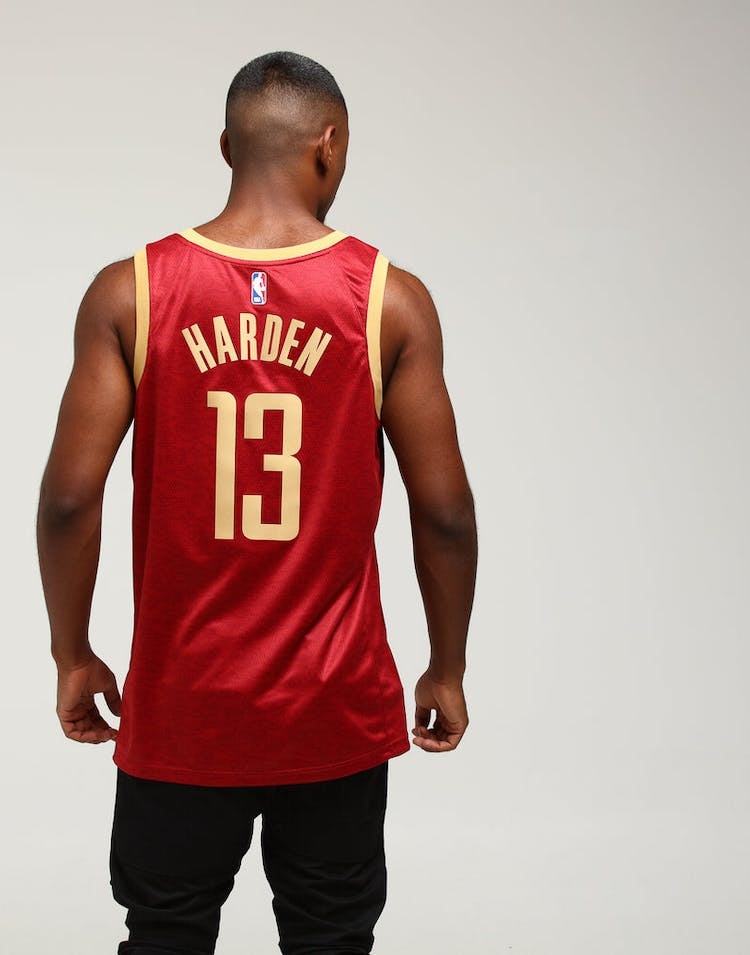 ec26f73df Nike Houston Rockets James Harden #13 City Edition Swingman NBA Jersey  Crimson