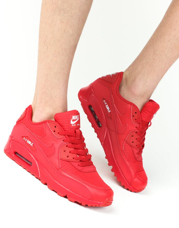 hot sales b86f6 4867b Nike Air Max  90 Essentials University Red
