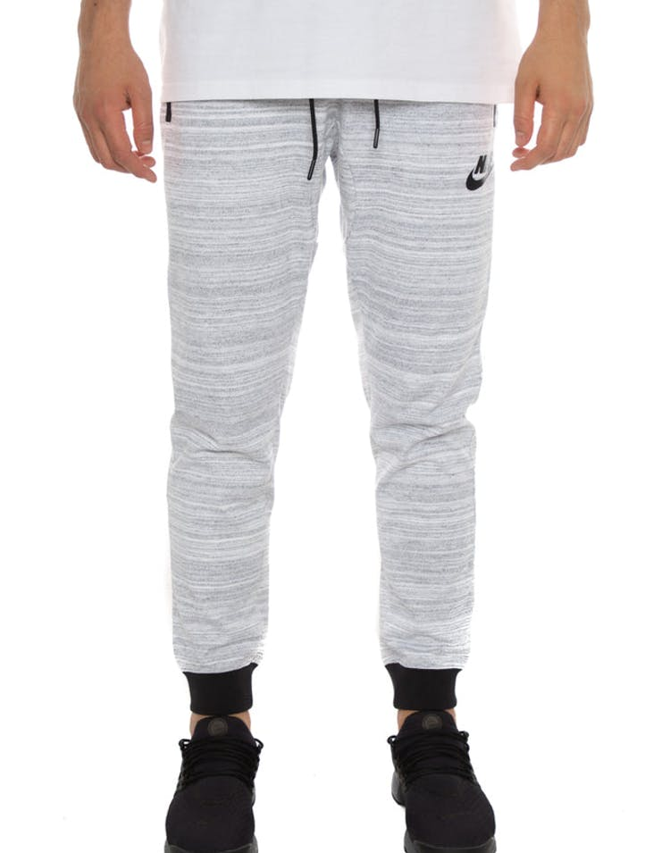 2ac1cf338c2e7 Nike Advance 15 Jogger Pant White/Black – Culture Kings NZ