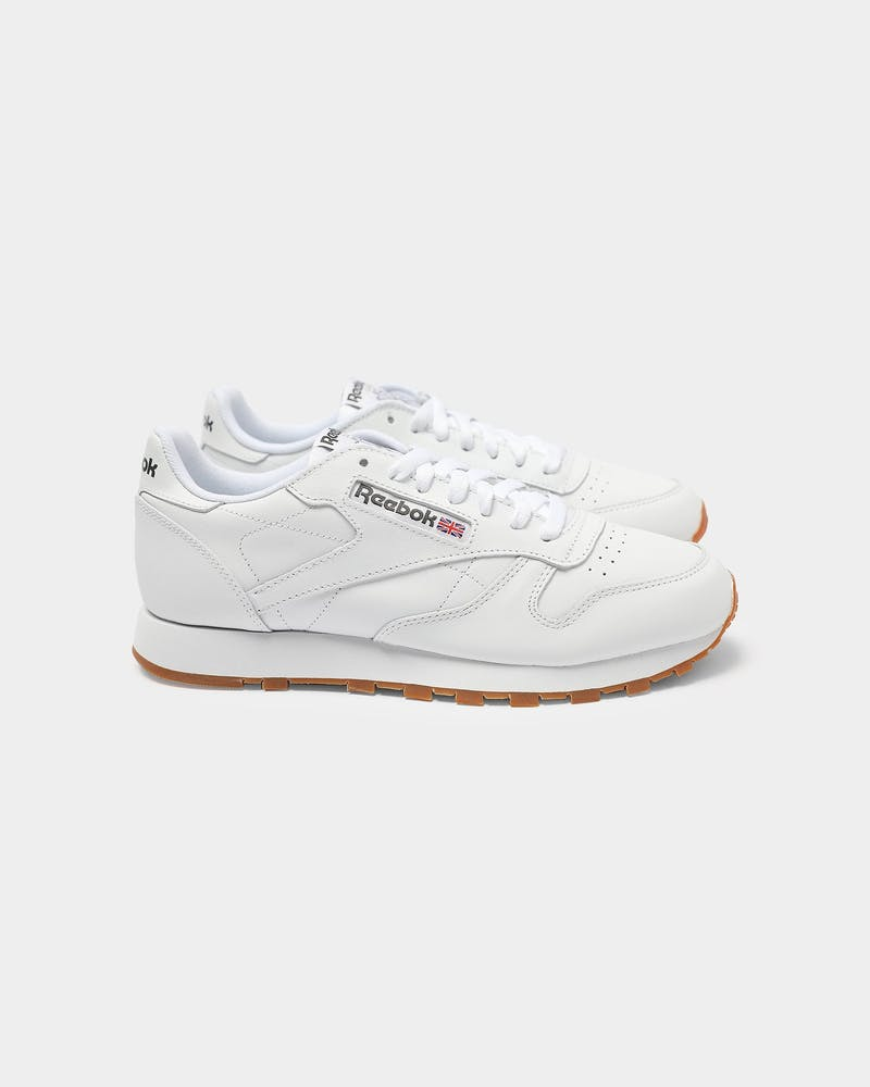 Classic Leather White/gum