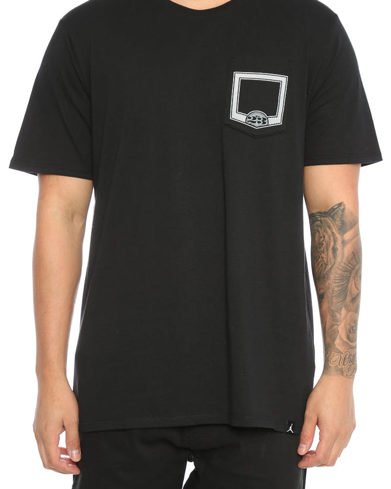 Jordan Pure Money Pocket Tee Black