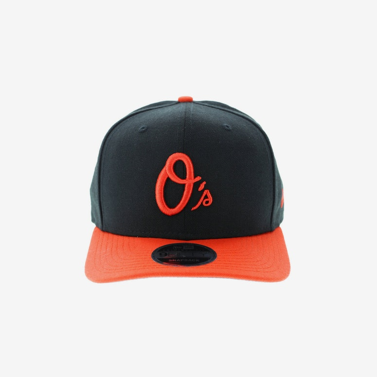 d3c2e981153 New Era Baltimore Orioles 950 Original Fit Precurve Snapback Black Orange