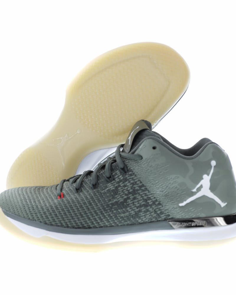 Air Jordan XXX1 Low Grey/White