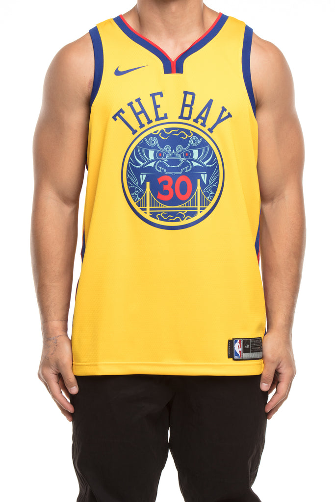 197828f1a5cd ... inexpensive nike golden state warriors 30 stephen curry city edition  swingman jersey yellow a48d7 ccb20