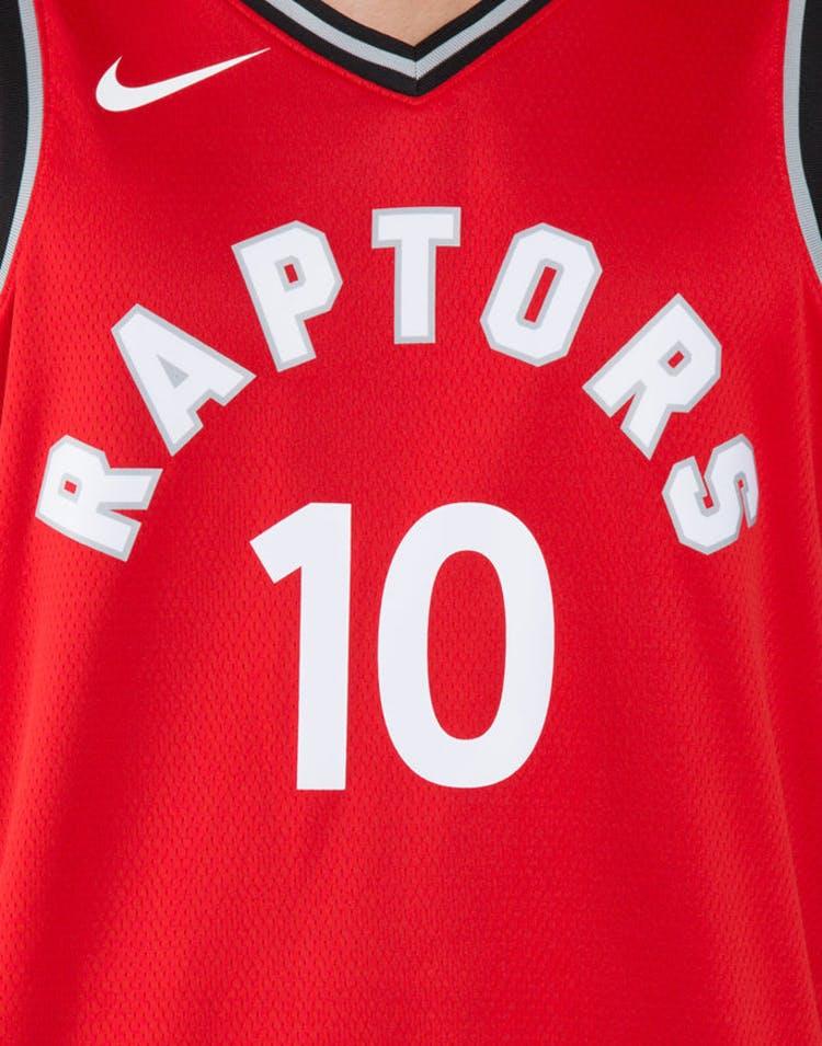 a936ac2c6 DeMar DeRozan  10 Toronto Raptors Nike Icon Edition Swingman Jersey Red  Black
