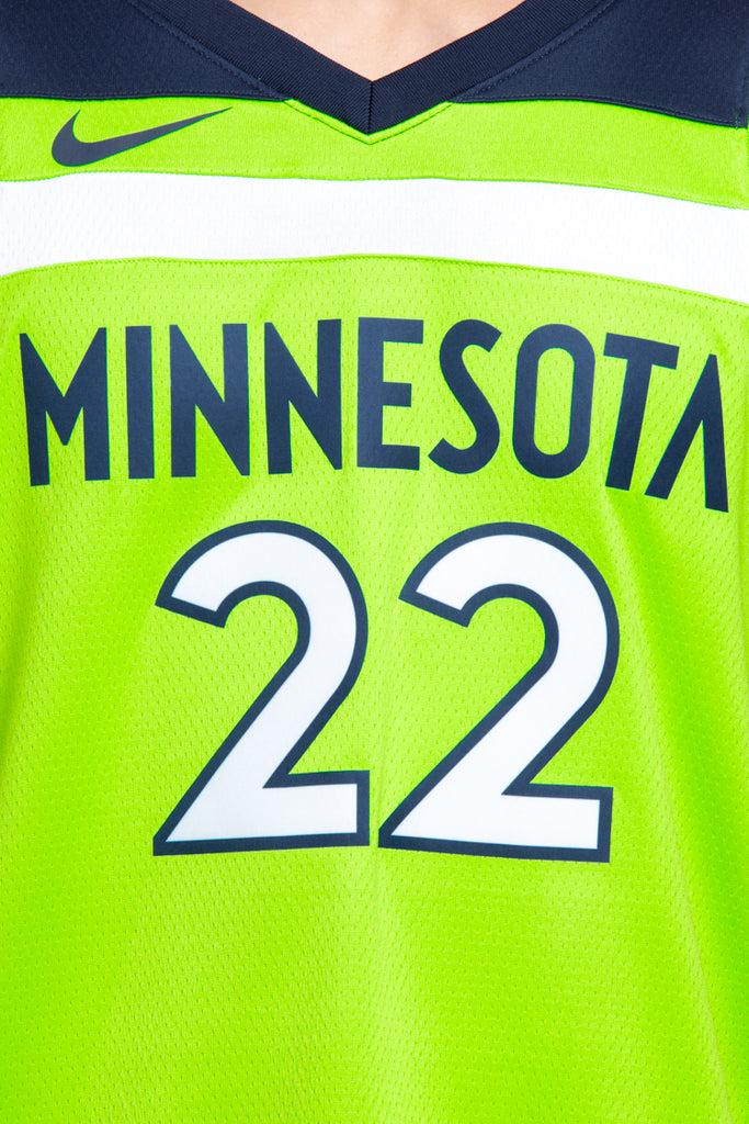 reputable site 6f509 30dd3 ebay minnesota timberwolves green jersey d59d7 57c80