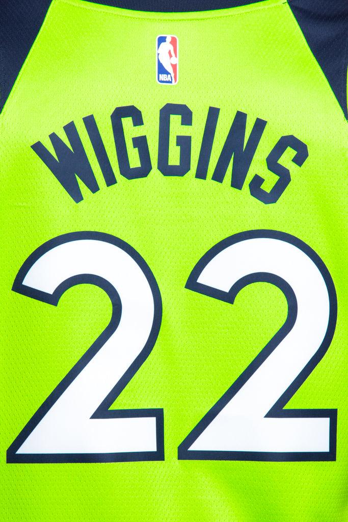 66168180 ... new style nike minnesota timberwolves 22 andrew wiggins alternate  swingman jersey green 1d1d6 cb9a8