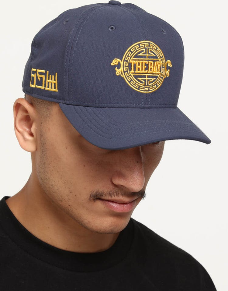 981ce1c2c55e3 Nike Golden State Warriors City Edition Dry Arobill Classic99 Snapback Dark  Blue