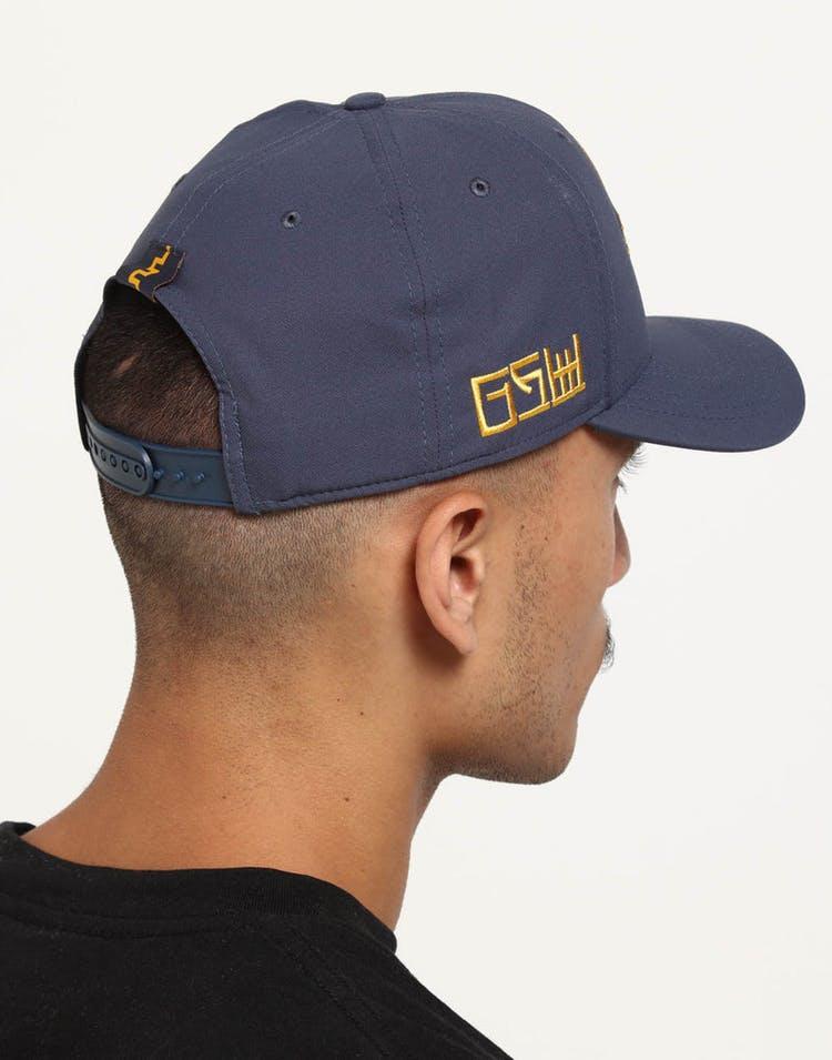 c5ed879c2416a Nike Golden State Warriors City Edition Dry Arobill Classic99 Snapback Dark  Blue
