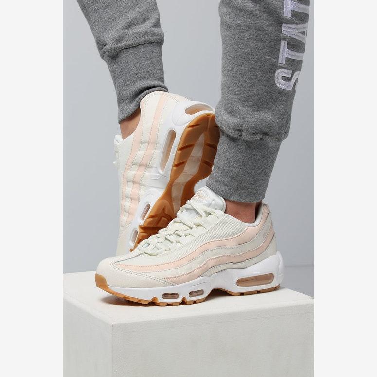 on feet images of premium selection best Nike Women's Air Max 95 OG Cream/White/Gum