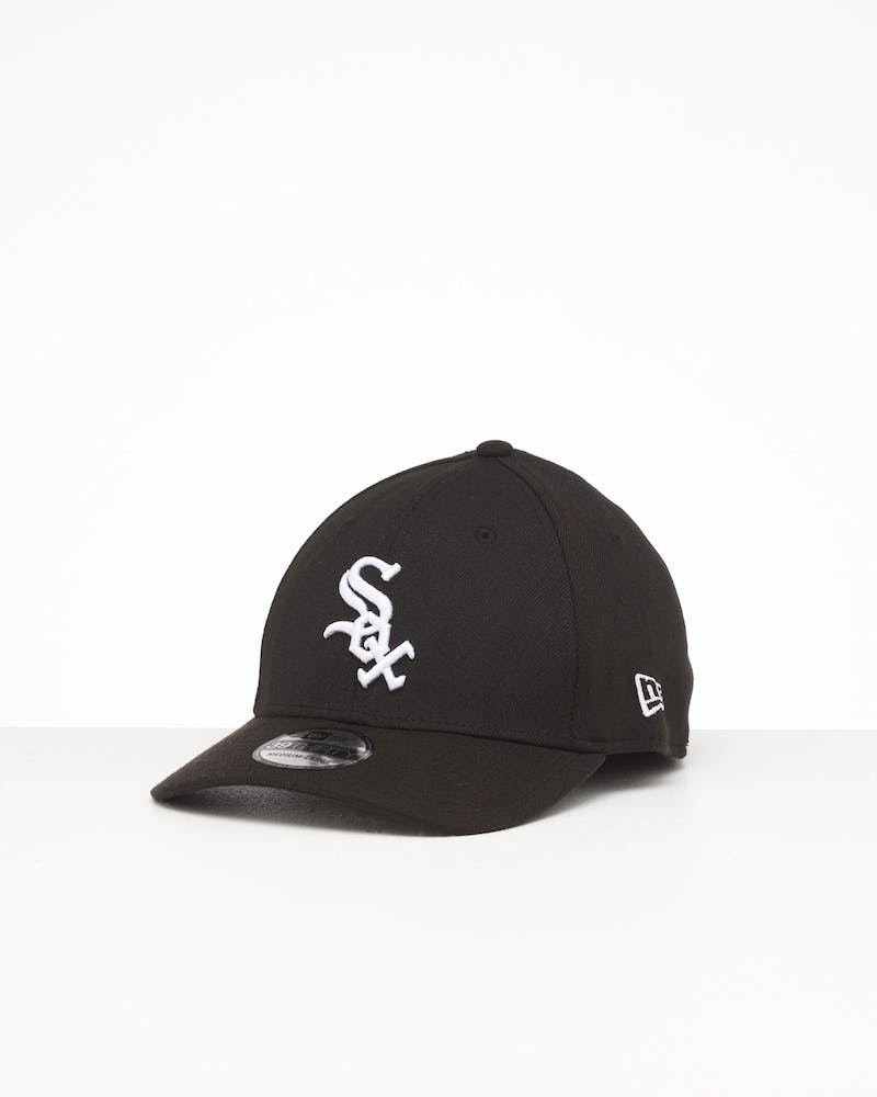 New Era White Sox 3930 Fitted - Black