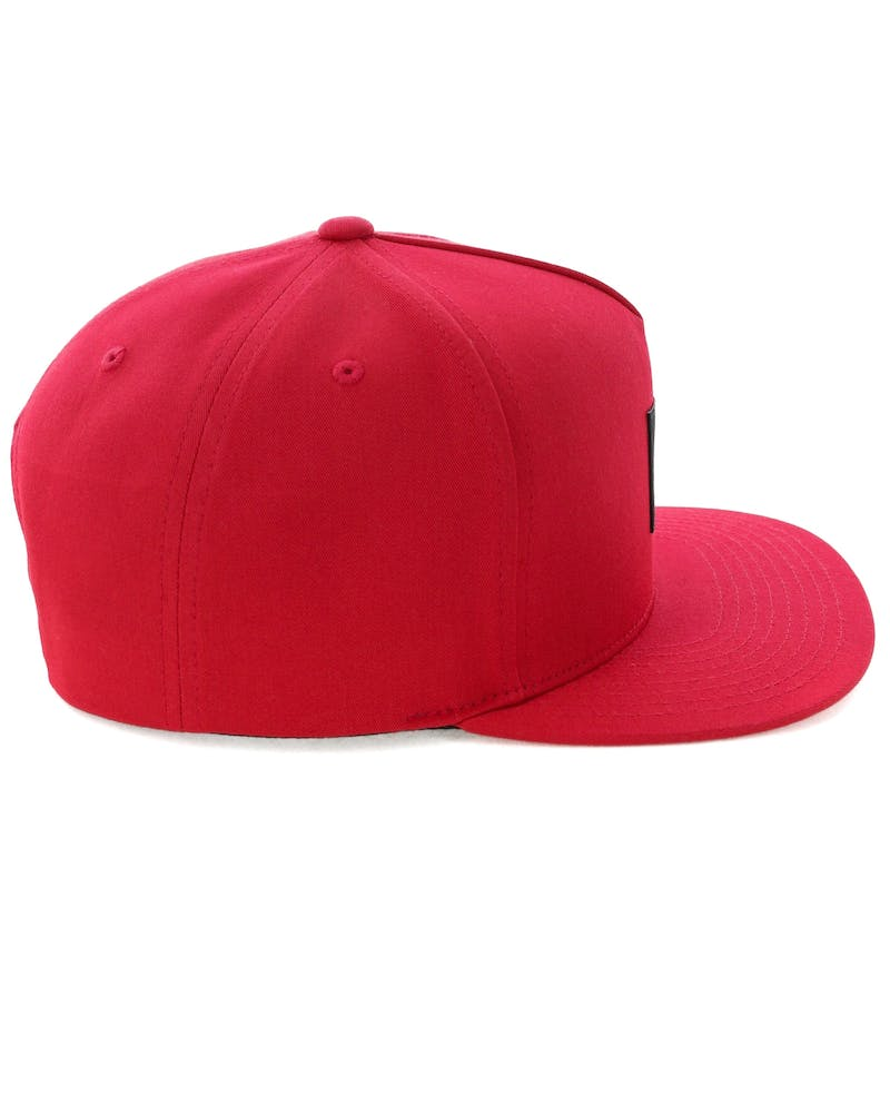 Huf Essentials Box Snapback Cap Red