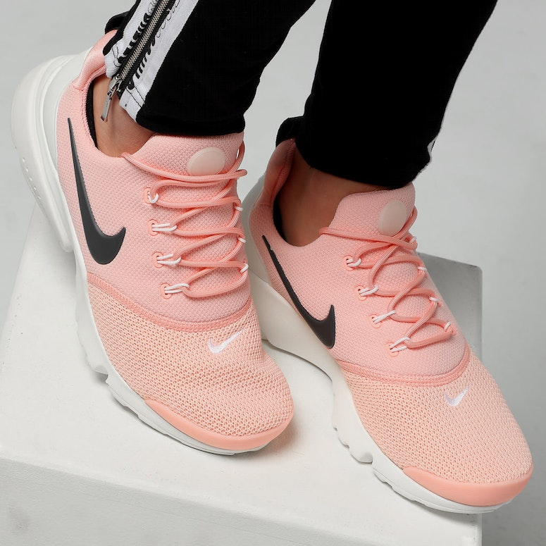 best authentic 15d58 3f096 Nike Women's Presto Fly Pink/Anthracite/White