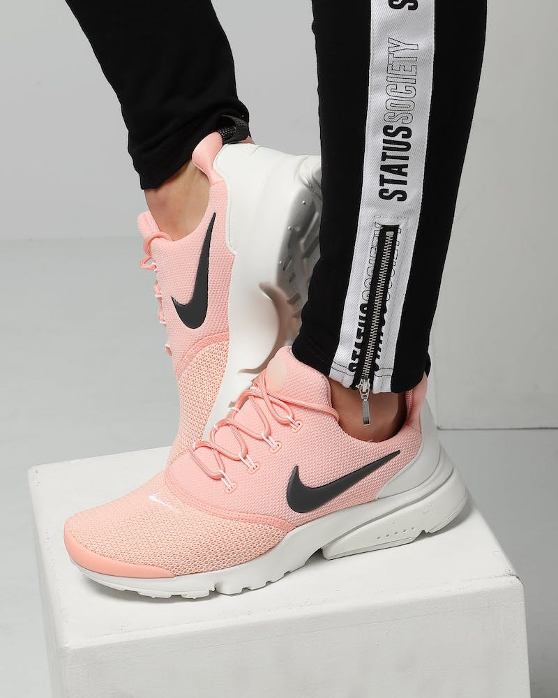 Nike Women's Presto Fly Pink/Anthracite/White