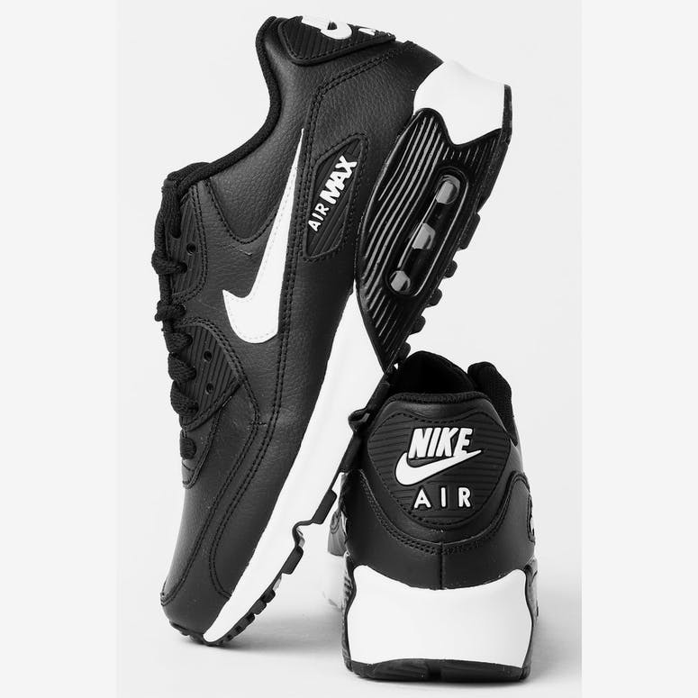 51a75cc5029a Nike Air Max 90 Leather (GS) Black White Anthracite – Culture Kings NZ