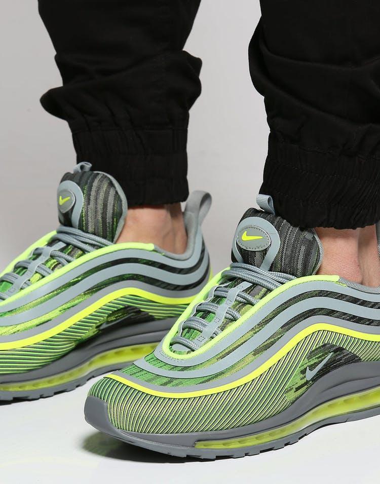 903624f2b9594 Nike Air Max 97 Ultra '17 Volt/Green/Grey   918356 701 – Culture ...