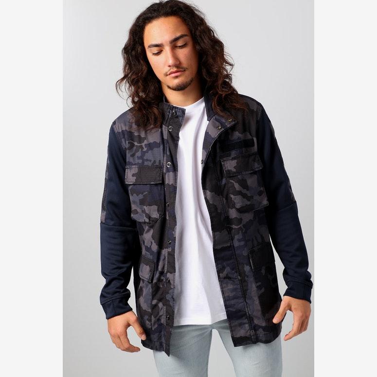 Nike Sportswear NSW Men s Camo Jacket Dark Obsidian White – Culture ... 933a56bce846