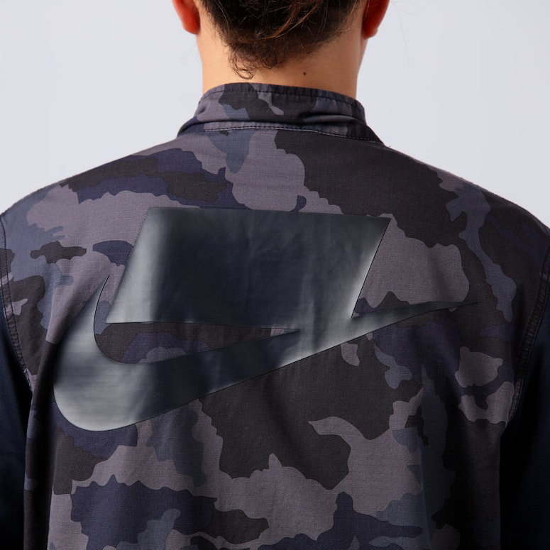 Nike Sportswear NSW Men s Camo Jacket Dark Obsidian White – Culture ... 933a56bce846
