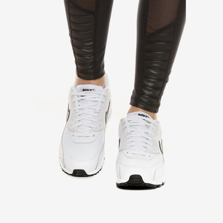 new style 1b0e4 969ad Nike Women s Air Max 90 White Black