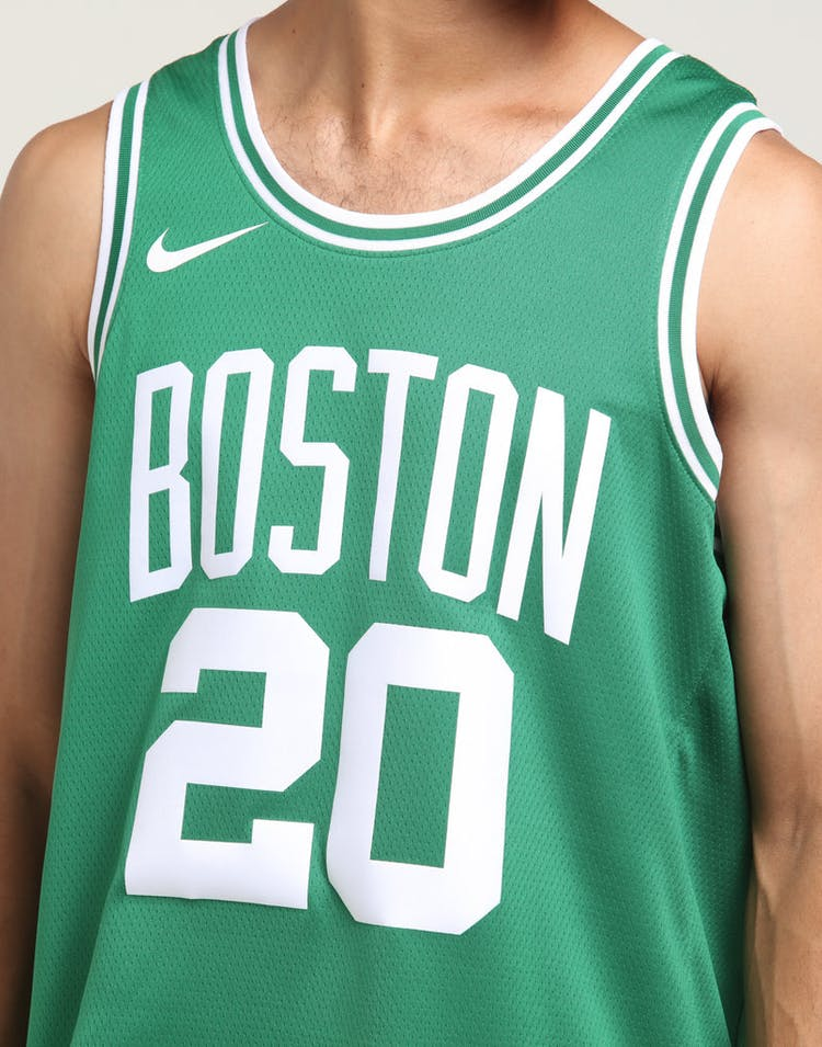 purchase cheap 8c81d c7229 Nike Boston Celtics Gordon Hayward #20 Icon Edition NBA Jersey Clover